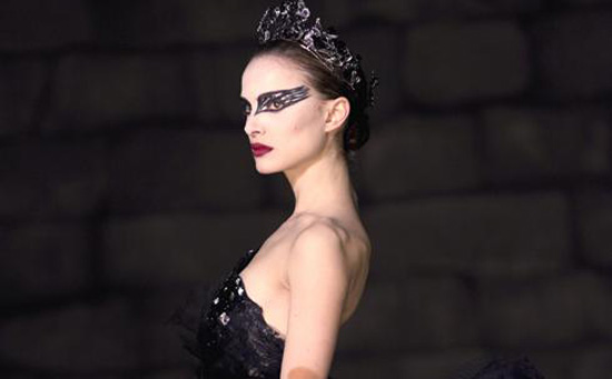Black Swan. Natalie Portman is surrounded by a powerful force field of genre